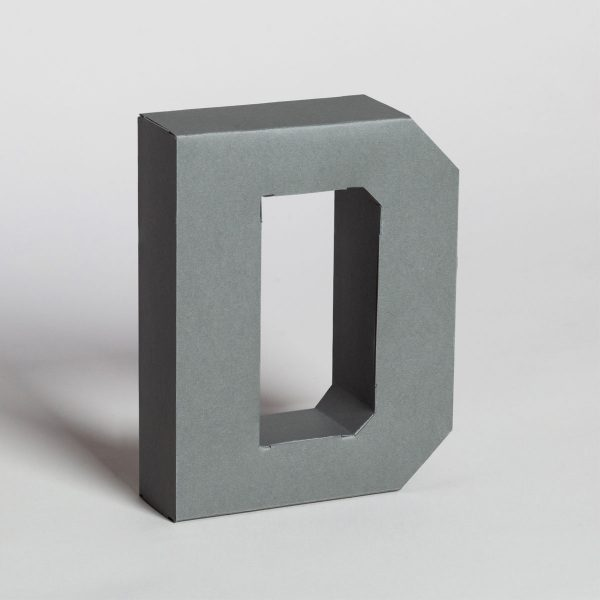 Papertype big letters
