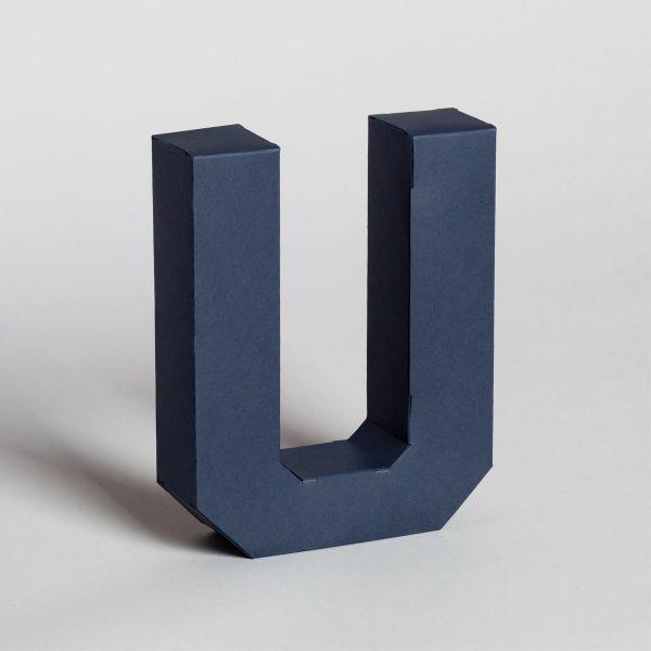 Papertype lettere decorative 3d