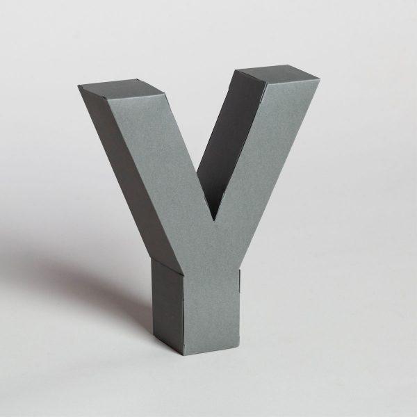 Papertype decorazioni lettere 3d